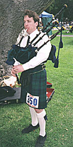 Andrew warming up