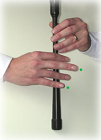 bagpipe finger chart C-natural