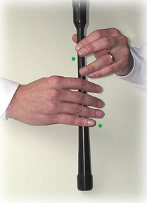 bagpipe finger chart F-natural